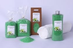 Koupelová sůl: Zelený čaj 5kg