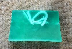 Glycerinové mýdlo s OKURKOU 150g