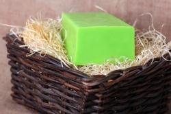 Glycerinové mýdlo s KIWI A LIMETKOU 100g